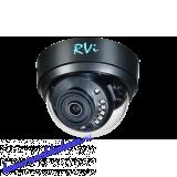 2 МП Мультиформатная  видеокамера RVi-HDC321 (2.8) (black)